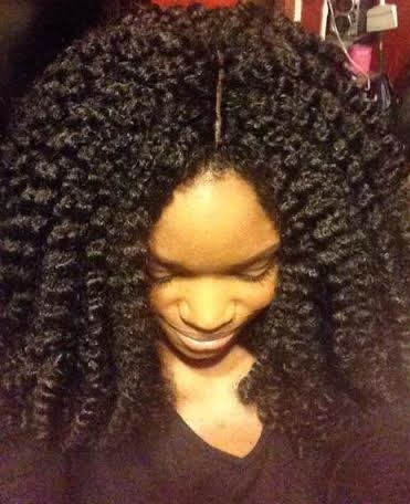 Crochet Braids Knots : ... hairstyle; Knot free crochet hair. (Which she did on herself